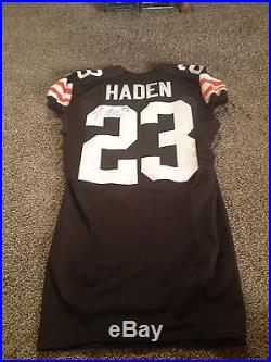 Cleveland Browns Joe Haden Game Issued Jersey