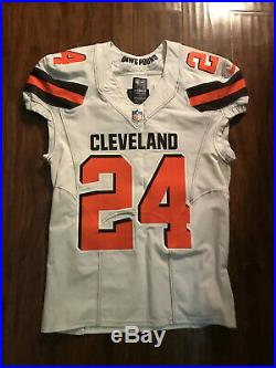 Cleveland Browns Nick Chubb Game Issued/worn Jersey