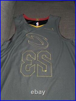 Cleveland Cavaliers 2018 Lebron James Game Jersey game issued worn used no coa