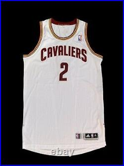 Cleveland Cavs Blank Game Issued Jersey Kyrie Irving Rookie Jersey Rev30