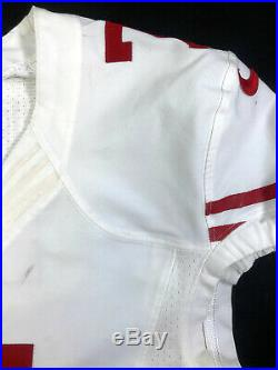 Colin Kaepernick San Francisco 49ers Pro-cut Team Issue Game Worn Road Jersey