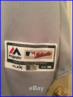 Curtis Granderson Dodgers Jersey Postseason Game Issue / Used MLB Cert