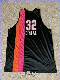 Customized Shaquille O'Neal Shaq Miami Floridians pro cut Jersey game issued