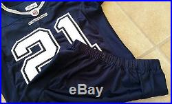 Dallas Cowboys 2010-46 NFL Mike Jenkins #21 Game Issued Team Player Jersey