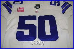 Dallas Cowboys Sean Lee Nike Home Game Issued Jersey Auto. With Psa/dna Coa