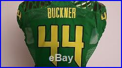 Deforest Buckner Oregon Ducks Game Issued Autographed Jersey From Player