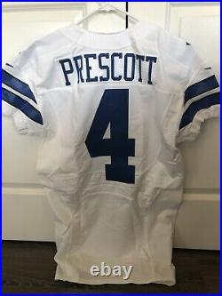 Dak Prescott 2016 Dallas Cowboys Game Issued Jersey