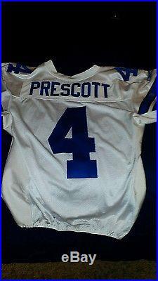 free shipping ab005 7383e Dak Prescott dallas cowboys game issued jersey (please read ...