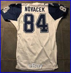 Dallas Cowboys 94 Apex Jay Novacek Game Issued Jersey sz 50 long 75th An