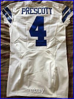 Dallas Cowboys Dak Prescott Game Issued Jersey