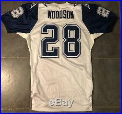 Dallas Cowboys Darren Woodson 1994 Double Star Apex game issued Jersey 48 Long