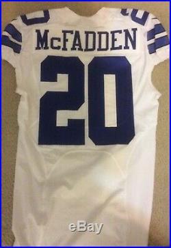Dallas Cowboys Game Issued Jersey (Darren McFadden)