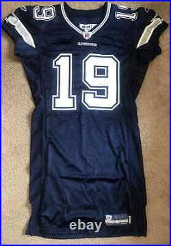 Dallas Cowboys Game Issued Miles Austin 2008 Jersey, Prova Tag