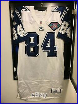 Dallas Cowboys Jay Novacek Game Issued 1994 Vintage Apex Jersey Autographed