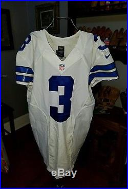 Dallas Cowboys game issued Brandon Weeden football jersey