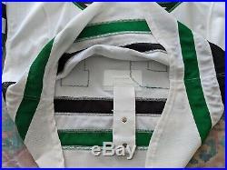 Dallas Stars Patrick Sanvido white game issued jersey 56
