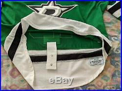 Dallas Stars Patrik Nemeth green game issued 2016-17 jersey 58