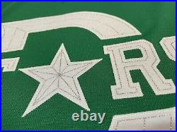 Dallas Stars Winter Classic MIC Adidas Authentic Game Issued NHL Jersey 56