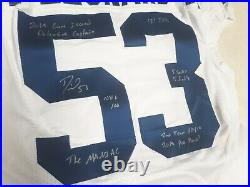 Darius Leonard Game Issued Signed Autographed Jersey Indianapolis Colts Rare