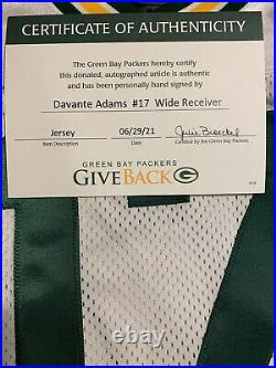Davante Adams ROOKIE Team Issued Jersey Green Bay Packers not Game Worn Used