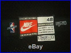 David Robinson 1998-99 NIKE Game Team Issued Pro Cut Away Jersey SZ 48+4
