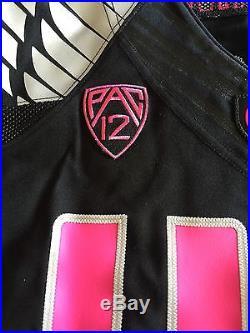 DeForest Buckner Oregon Ducks BCA Pink Team Issued Game Jersey Not Used Worn