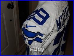 DeMarco Murray Autographed Nike Game Issued Jersey Dallas Cowboys COA & DM Holo