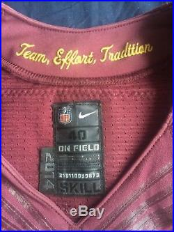DeSean Jackson NIKE 2014 Throwback Redskins Game Team Issued Jersey with COA Rare
