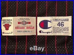 Dennis Rodman 1995-96 Pro Cut Team game Issued Chicago Bulls Jersey 46+3 RARE