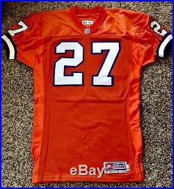 Denver Broncos 1996 Steve Atwater Autod Nike Game Issue Jersey NFL HOF Finalist