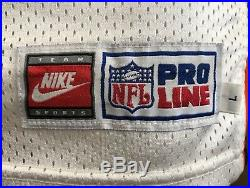 Denver Broncos 1997 Terrell Davis Nike Game Used/issued Jersey NFL HOF