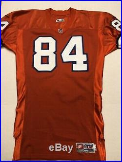 Denver Broncos GAME ISSUED Shannon Sharpe 1996 Orange Crush Jersey WithLOA
