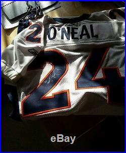 Denver Broncos Game Worn/ Team Issued 2001 Jersey