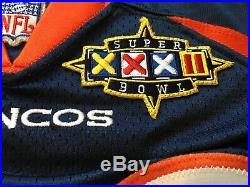 Denver Broncos Terrell Davis 1997 Nike Game Issued Jersey SB XXXII MVP