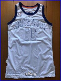Derek Harper New York Knicks Champion 1994-95 Pro Cut Game Issue Jersey 44 +3
