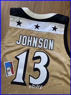 Dermarr Johnson Washington Wizards Game Issued Worn Used Jersey Adidas