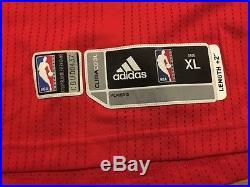 Derrick Rose Chicago Bulls game issue/worn red jersey, XL+2