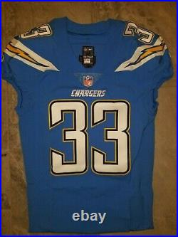 Derwin James Chargers NFL Game Issued Jersey