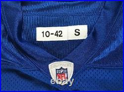 Detroit Lions 2010 Nate Burleson Game Issued Thanksgiving Throwback Jersey 42