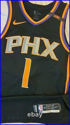 Devin Booker 2017-18 Phoenix Suns Game Issued Nike Statement Authentic Jersey