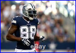 Dez Bryant 2010 Dallas Cowboys ROOKIE Authentic Player Issued Game Jersey Sz 46