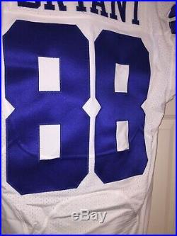 Dez Bryant 88 Dallas Cowboys Game Issued Used Worn Jersey Prova Tag Saints OSU