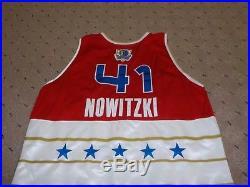 Dirk Nowitzki game issued Pro Cut Jersey All Star Houston 2006
