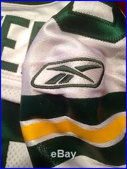 Donald Driver SB XLV 2010 Game Issued Team Cut Packers NFL Game Football Jersey