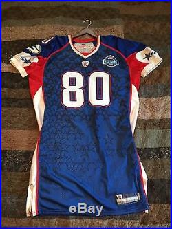Donald Driver game issued 2008 Pro Bowl jersey Packers