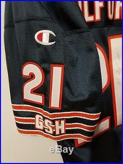 Donnell Woolford Autographed 1994 Chicago Bears Game Issued Jersey
