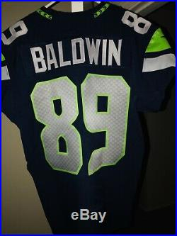 Doug Baldwin Game Used Jersey Seattle Seahawks Worn Issue PSA