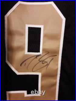 Drew Brees New Orleans Saints Signed Game Team Issue Jersey Beckett Coa Un Worn