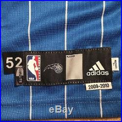 Dwight Howard Game Issued Autographed Orlando Magic Jersey Adidas 52 NBA