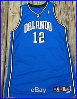meet e4056 c6e62 Dwight Howard Orlando Magic Game Worn/ Issued Adidas Home ...